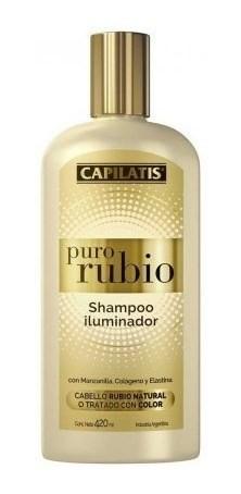 Shampoo Iluminador Puro Rubio Capilatis X 420ml