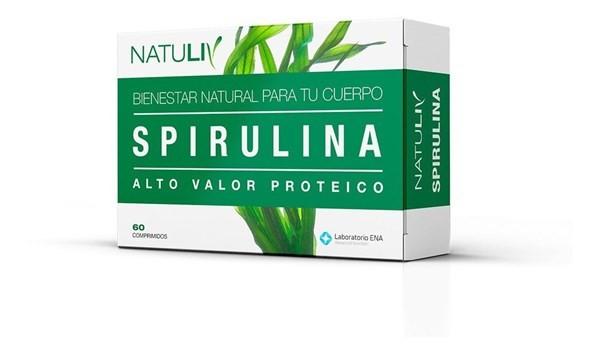 Natuliv Spirulina 60 Comprimidos