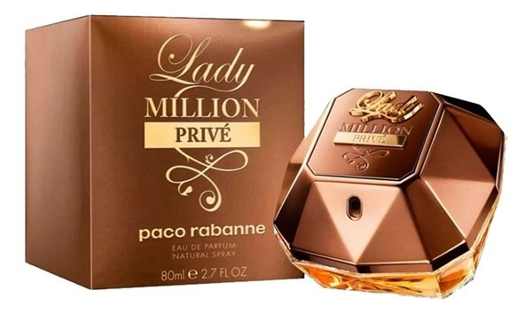 Perfume Lady Million Prive Paco Rabanne Edp 80ml