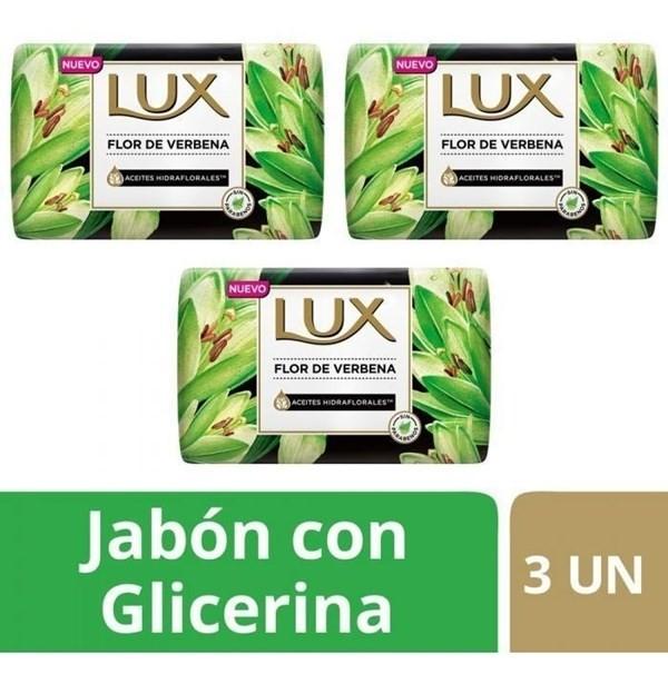 Jabon Lux Flor De Verbena Barra 3un X125g