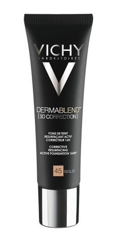 Vichy Dermablend 3d Correction Gold 45