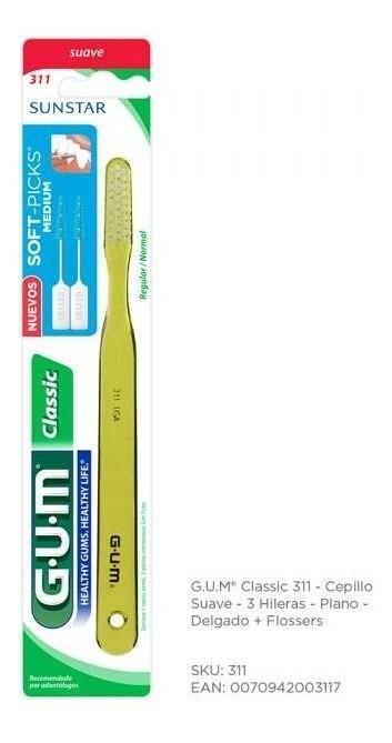 Gum Classic 311 Cepillo Dental X 1 Unidad