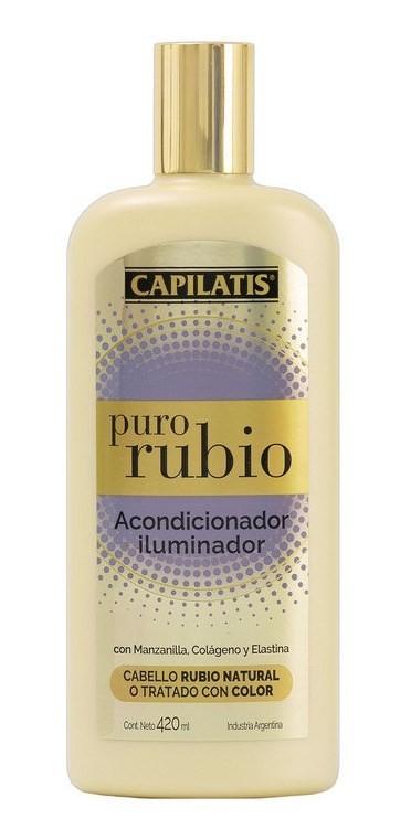 Capilatis Acondicionador Iluminador Puro Rubio X 420 Ml