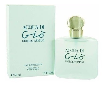 Perfume Acqua Di Gia Armani Woman Edt 50ml