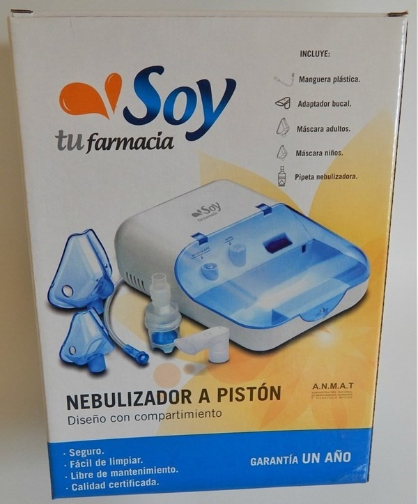 Nebulizador A Pistón Soy Tu Farmacia alt