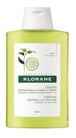 Klorane Shampoo Pulpa De Cedrat X 200 Ml