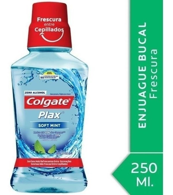 Enjuague Bucal Colgate Plax Soft Mint 250ml #1