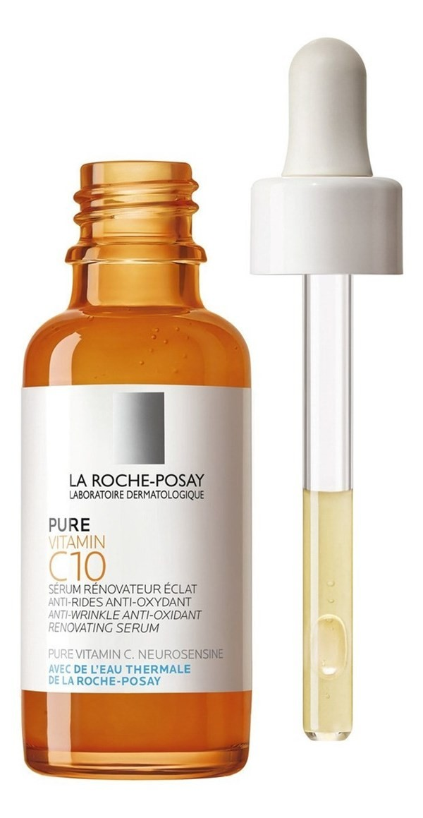 Pure Vitamin C 10 De La Roche-posay Para Pieles Sensibles