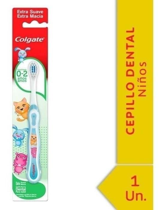 Cepillo Dental Colgate Smiles 0-2 Años 1 Unidad #1