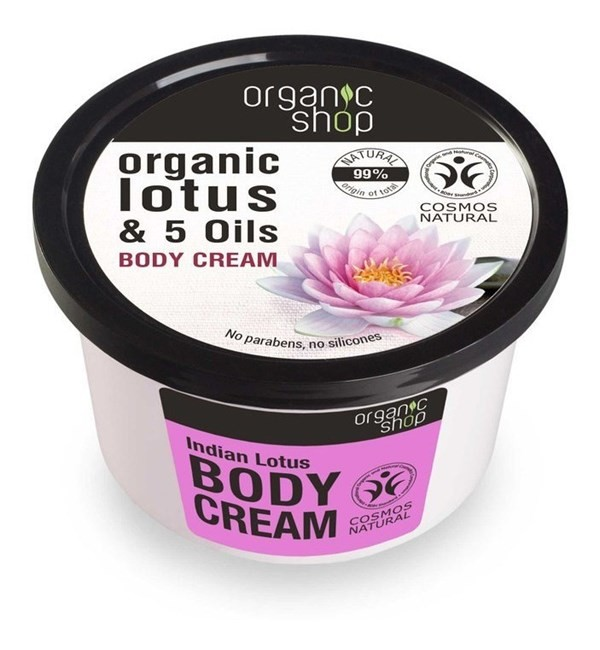 Organic Shop Crema Corporal Flor De Loto De La India