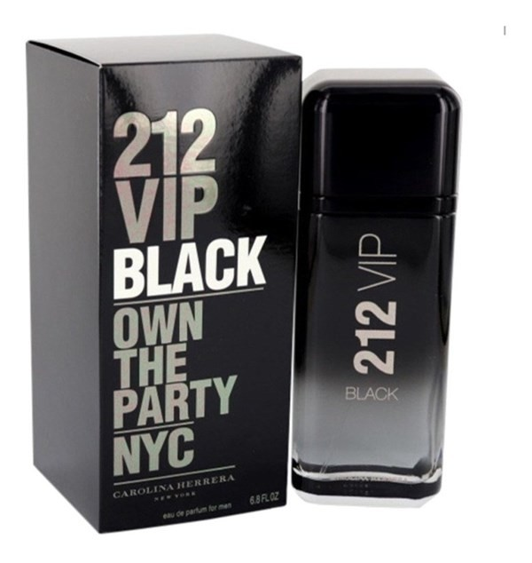 Perfume Hombre Carolina Herrera 212 Vip Black Men Edp 50ml