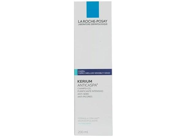 La Roche Posay Kerium Shampoo Gel Anticaspa Graso 200ml alt