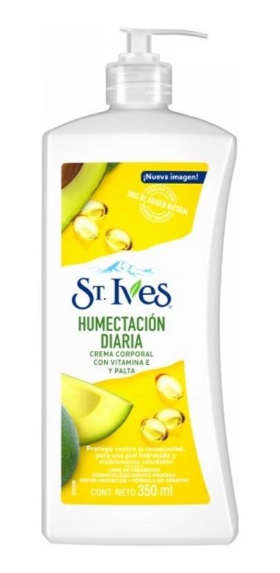 St.ives Crema X 350ml Humectacion Diaria