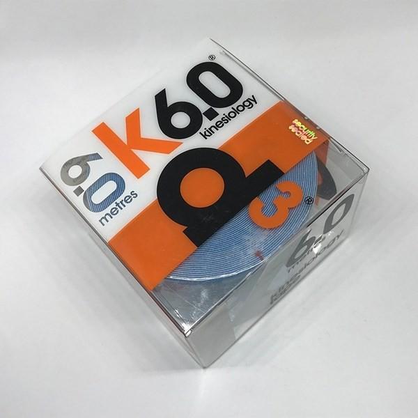 Cinta Adhesiva Kinesiológica D3 Tape Spider Tech Azul X6m alt