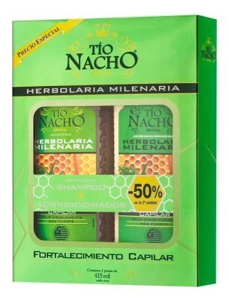 Tio Nacho Monoestuche Herbolaria Shampoo + Acondicionador
