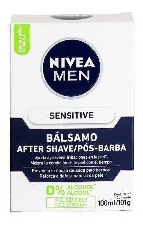 Nivea Loción After Shave For Men Sensitive X 100 Ml