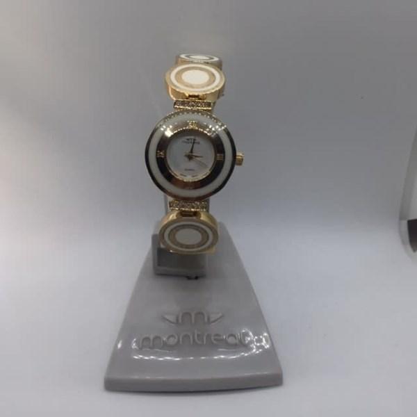 Reloj Dama Montreal Pulcera Metalica -mu
