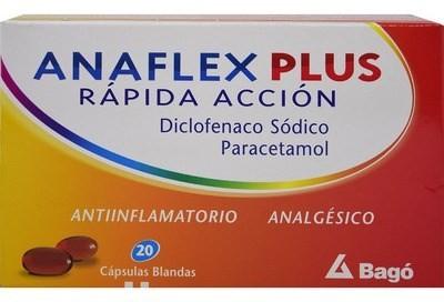 Anaflex Plus Rapida Acción Capsulas Blandas X20