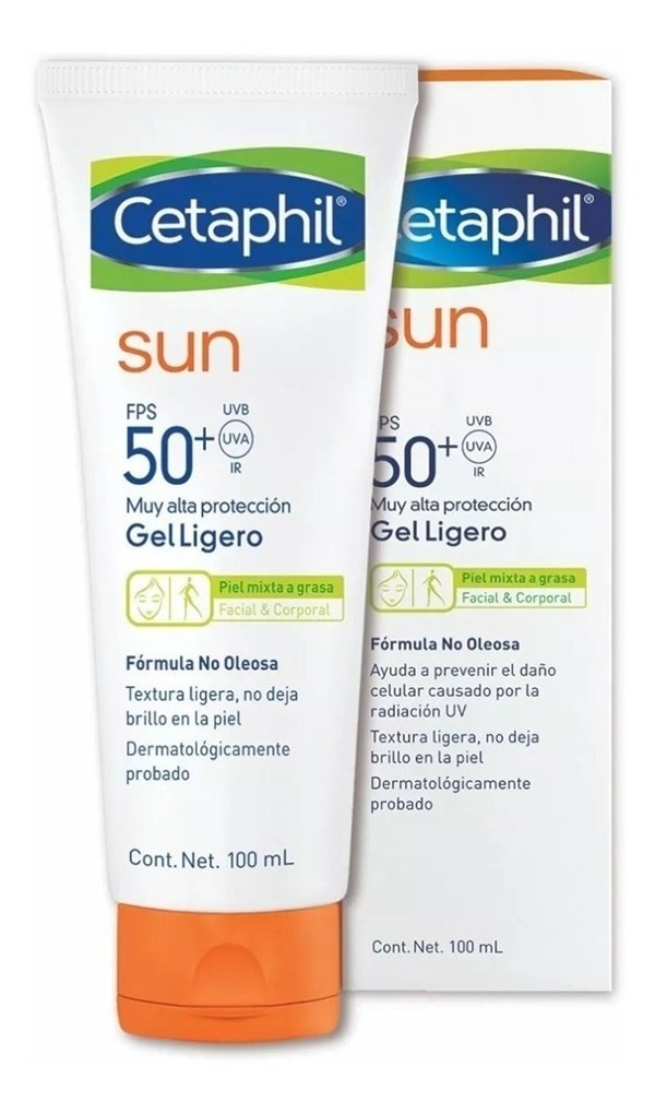 Cetaphil Gel Facial/ Corporal Fps 50+ X 100ml