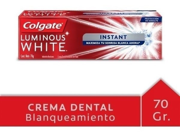 Crema Dental Colgate Luminous White Instant 70g #1