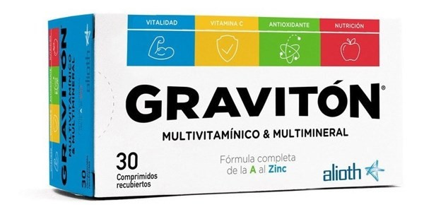 Gravitón Suplemento Vitamínico X 30