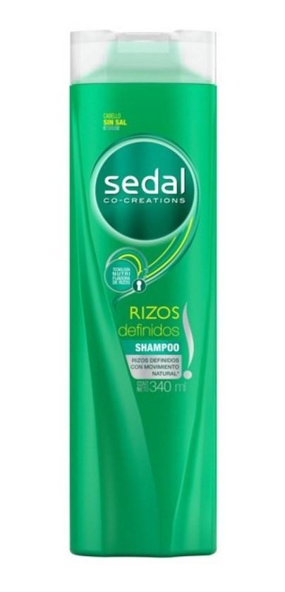 Sedal Shampoo X 340ml Rizos Definidos