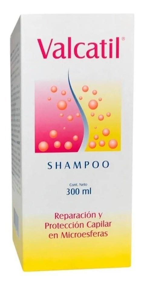Shampoo Valcatil Anticaida Reparador Cuero Cabelludo 300 Ml