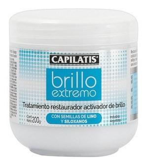 Capilatis Tratamiento Brillo Extremo X 200 Gr