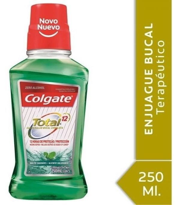 Enjuague Bucal Colgate Total 12 Aliento Saludable 250ml