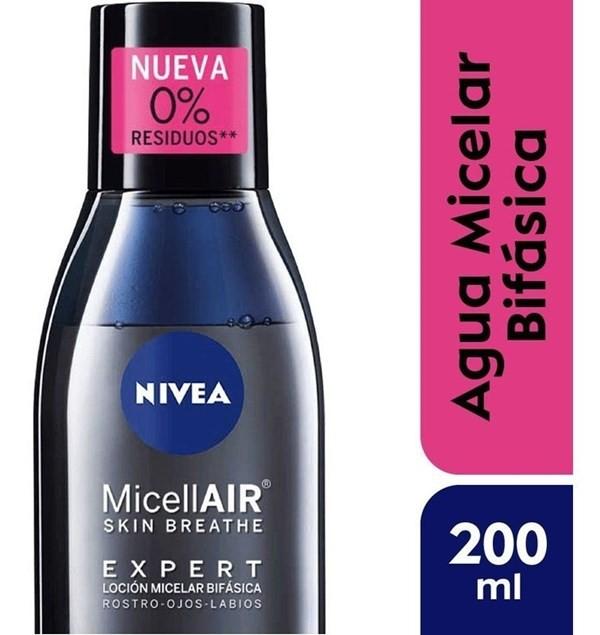 Nivea Loción Micelar X200ml Micellair Expert