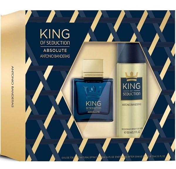Perfume Antonio Banderas King Of Seduction Absolute + Deo
