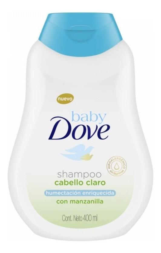Dove Baby Shampoo X400ml Cabello Claro