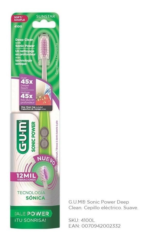 Cepillo Dental Sonic Power Deep X 1 Un