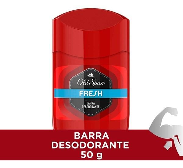 Desodorante Old Spice Fresh Barra 50 G