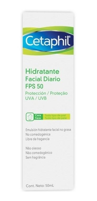 Cetaphil Hidratante Facial Diario Fps 50 50ml
