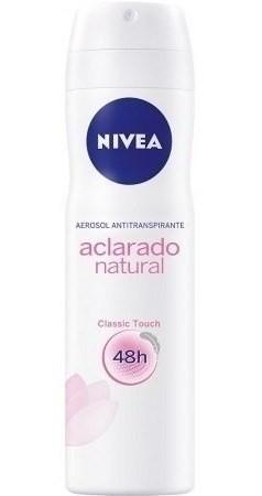 Nivea Desodorante En Aerosol Aclarante Natural X 150 Ml