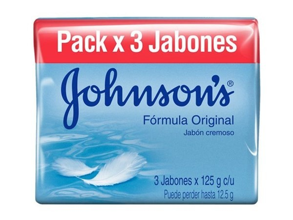 Johnson´s Jabón Adulto Original 125 Gr Pack X3 Jabones