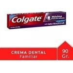 Crema Dental Colgate Máxima Protección Anticaries Neutrazúca #1