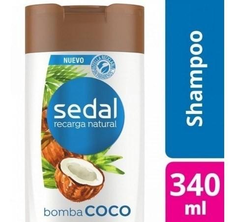 Shampoo Sedal Bomba Coco 340ml