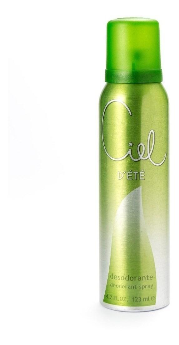 Desodorante Para Mujer Ciel D'été En Aerosol X 123 Ml