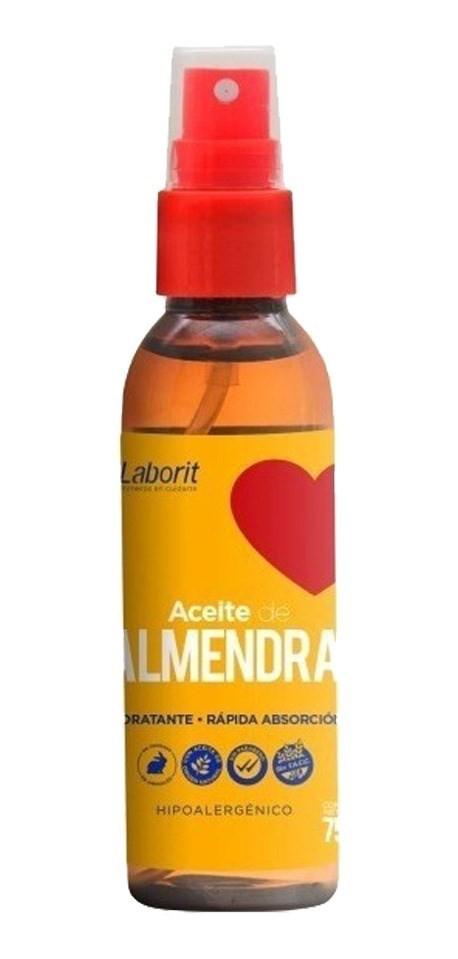 Laborit Aceite Almendras Spray Hidratante 75ml 2x1