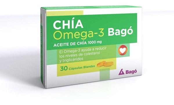 Chía Omega 3 Suplemento Dietario X30cps Blandas