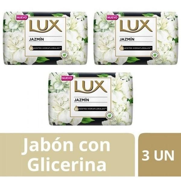 Jabón Lux Jazmin Barra 3un X125g