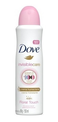 Desodorante Dove Antitranspirante Invisible Care 150ml