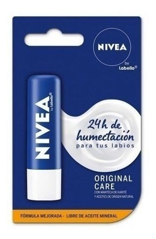 Nivea Protector Labial Essensial Care X 4,8 Gr