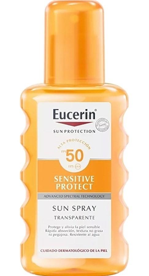 Eucerin Protector Solar Sun Spray Transparente Fps50 X 200ml