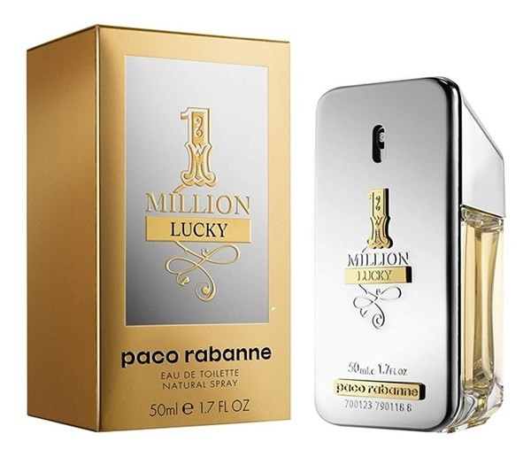 Perfume Paco Rabanne One Million Lucky Hombre Edt 50ml