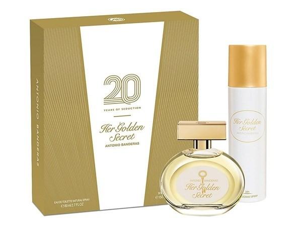 Perfume Mujer Her Golden Secret Edt 80ml + Deo 150