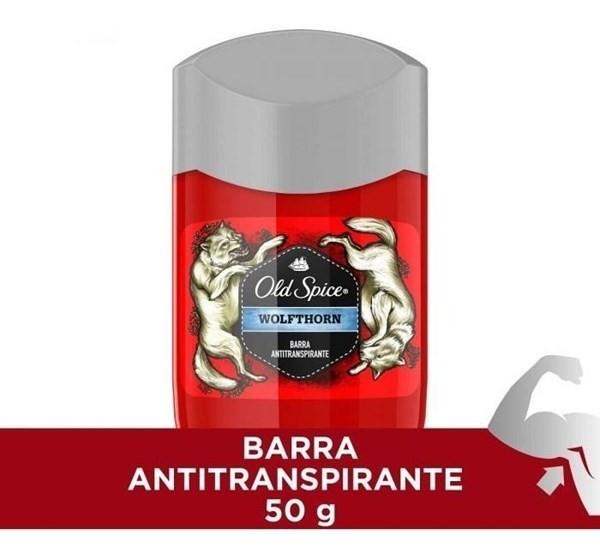 Desodorante En Barra Old Spice Wolfthorn Antitranspirante 50