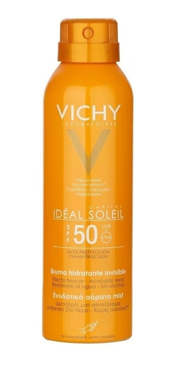 Vichy Ideal Soleil Bruma Hidratante Invisible Fps 50 X200ml